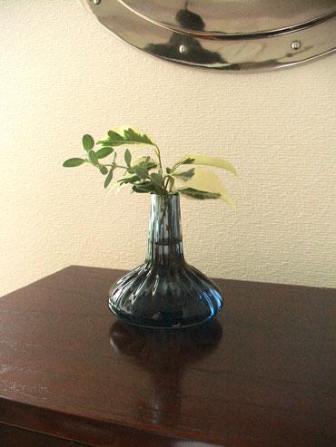 河上智美 ガラス 花瓶